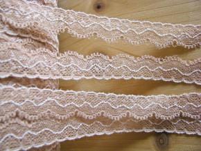 3m elastische Abschluss-Spitze in nude/hell-beige Fb0097