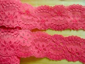 1m elastische Spitze in leinen-rot Fb0641