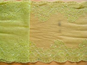 1m elastische Spitze in lime Fb1145