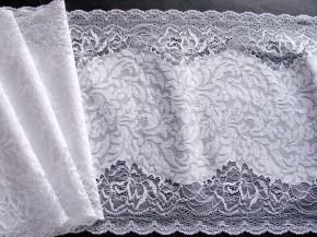 1m elastische XL-Spitze in rein-weiß Fb4000