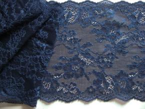 1m elastische Spitze in marine-blau Fb1305
