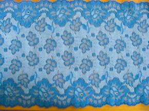 1,7m elastische Spitze in gobelin-blau Fb1315
