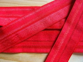 6m Falzgummi/Einfassgummi in hot-rot Fb0503