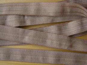 6m Falzgummi in sandelholz Fb0475