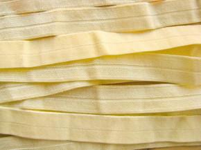 6m Falzgummi in hellem gelb Fb1454 - samtig