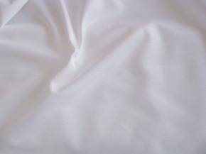 1m Futter-Stoff - Simplex geschliffen - in rein-weiß Fb2000
