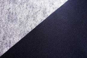 1Stk. Klebe-Laminat für BH`s in abend-blau Fb0810