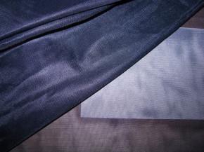 zarte Futter-Charmeuse in abend-blau Fb0810