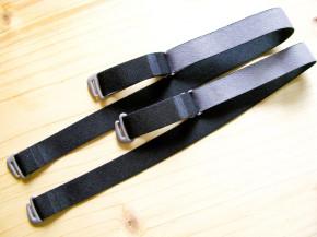 1 Paar fertige Träger in schwarz Fb4000 und taupe
