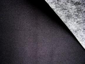 1Stk./ Klebe-Laminat für BH`s in schwarz Fb4000