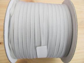 200m/1 Rolle Schleifchenband in glas-grau Fb3525