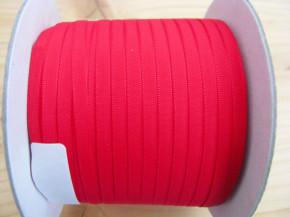 200m/1 Rolle Schleifchenband in beerigem rot/nelke Fb0629