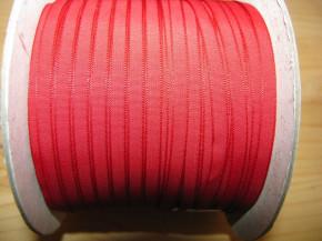 200m/1 Rolle Schleifchenband in blut-rot Fb0504
