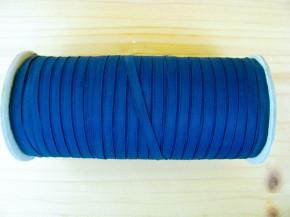 200m/1 Rolle Schleifchen-/Dekoband in d.marine-blau Fb0825