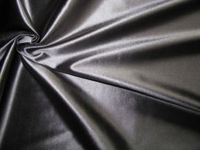 elastischer Glanz-Microfaser in dunklem stahl-grau Fb0878