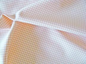 1m feste Microfaser fein gemustert in creme/beige - Bademode