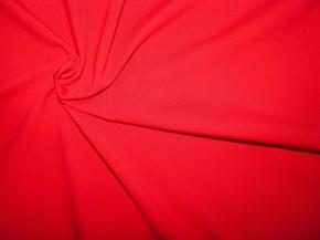 1m Bi-elastische Soft-Microfaser in rojal-rot/blut-rot Fb0504