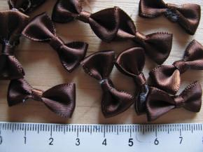 4 Schleifchen in schoko-braun Fb0175