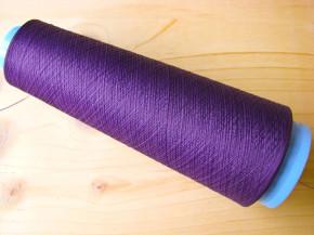 1 Kone AMANN sabatex Bauschgarn in violett Fb0046