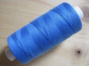 1 Spule Nähgarn in gobelin-blau Fb1315 Richtung korn-blau