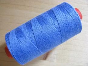 1 Spule AMANN rasant Nähgarn in korn-blau Fb1463