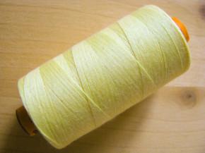 1 Spule AMANN rasant Nähgarn in zitronen-gelb Fb0113