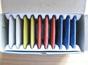1 Paket/10 Stk. Schneiderkreiden-Set, verschiedene Farben