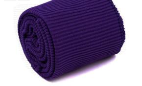 1 Set Bündchen - elastisch in violett Fb0046