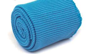 1 Set Bündchen - elastisch in gobelin-blau Fb1315