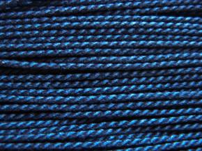 1m BW-Kordel in jeans-blau Fb1467 - 2mm