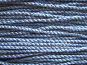 1m BW-Kordel in helio-blau Fb0350- 3mm