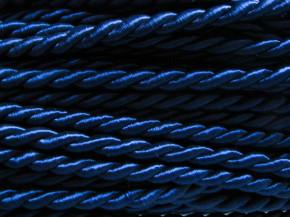 1m Atlas-Kordel in rojal-blau Fb0016- 8mm