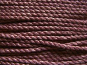1m BW-Kordel in rosenholz Fb0153 - 3mm