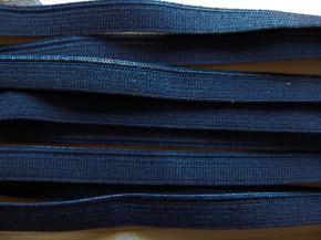 6m Paspelgummi in abend-blau Fb0810