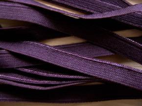 6m Paspelgummi in aubergine Fb0160