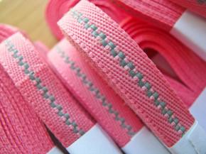 5m Reflektorband in kräftigem rosa Fb0067