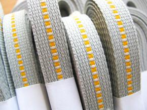 5m Reflektorband in silber-grau Fb3501