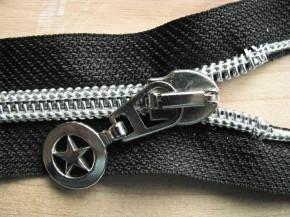 Jacken-Reißverschluss teilbar in schwarz 52cm