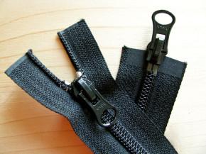 Jacken-Reißverschluss, 2-Weg, teilbar in schwarz 43cm