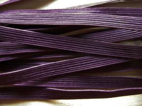 10m zarter Dekollete-Gummi in d.aubergine Fb0793