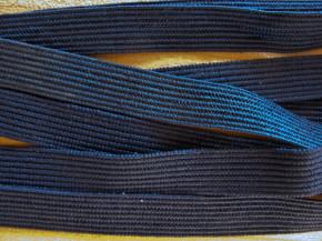6m zarter Dekollete-Gummi in abend-blau Fb0810
