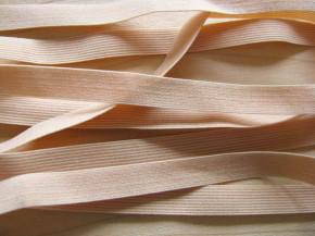 10m zarter Wäsche-Gummi in puder Fb0260