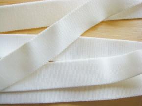 5m Satin-Träger-Gummi in perl-weiß/ein Hauch von creme Fb2001