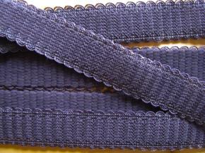 5m Träger-Gummi/Schulterband in jeans-blau Fb1467