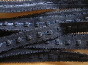5m Schmuck-Träger-Gummi/Schulterband in abend-blau Fb0810