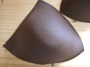 1 Paar BH-Körbchen/Schalen in leather Fb1382 - Gr.54