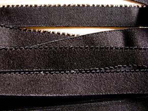 6m Unterbrustgummi in schwarz Fb4000 - 15mm