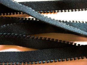 6m Unterbrustgummi in schwarz Fb4000 - 10mm