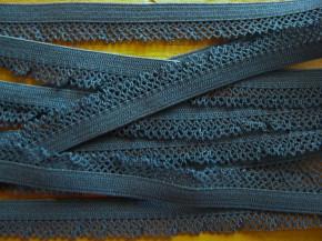 6m Schmuck-Wäschegummi in pacific-blau Fb1276