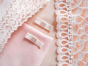 """1 Pkt. Materialpaket """"Peach blossom"""" - Slipset"""